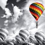 balloon,バルーン,気球,目立つ,違う,ユニーク,オリジナル