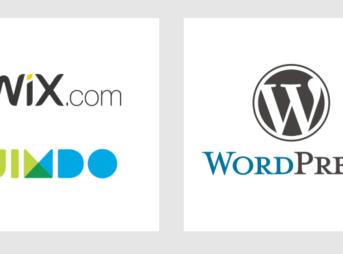wix 、Wordpress