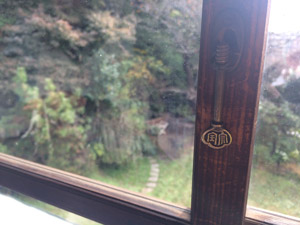 古民家旅館「喜多屋」窓鍵