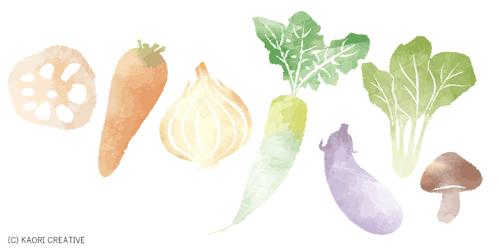 野菜:重ね煮アカデミー ディプロマ制作プロジェクト