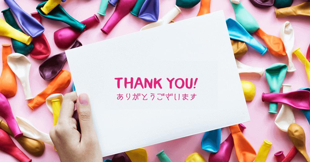 THANK YOU -KAORI CREATIVE