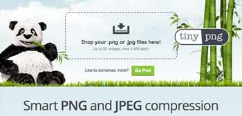 オンライン画像圧縮ツール Smart PNG and JPEG Compression